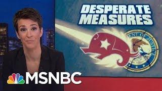 Republican Attack On Robert Mueller Donald Trump Investigation Falls Apart | Rachel Maddow | MSNBC