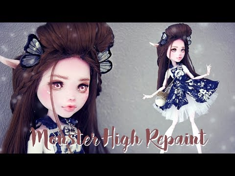 MONSTER HIGH REPAINT ENAEL WORK IN PROGRESS English sub
