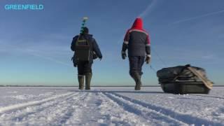 Зимняя Рыбалка Чудское Озеро д. Луневщина 18+