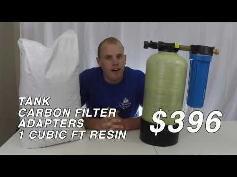Pure Water Window Cleaning - De-Ionizer Tank Review