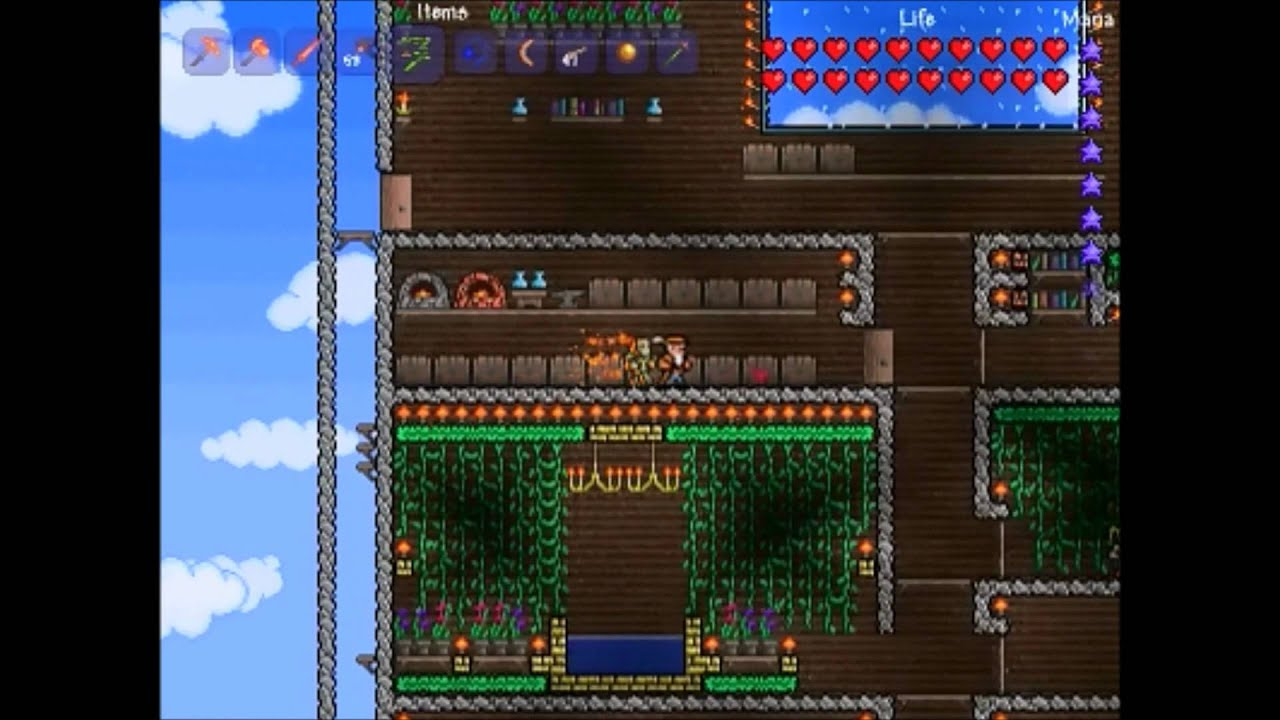Terraria Big House YouTube