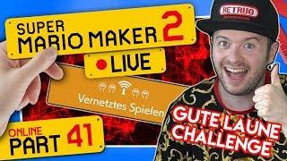 🔴 SUPER MARIO MAKER 2 ONLINE 👷 #41: Vernetztes Spielen mit Gute Laune Challenge