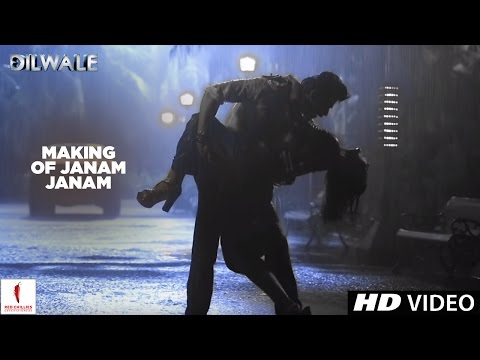 Dilwale | Making Of Janam Janam | Kajol, Shah Rukh Khan | A Rohit Shetty Film