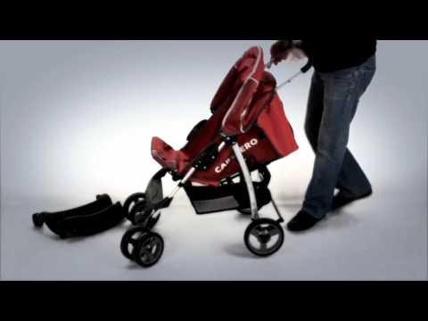 Детская коляска CARETERO Monaco - обучающее видео