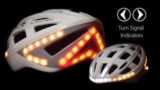 Велосипедный шлем Lumos со стоп-сигналом и указателями поворотов