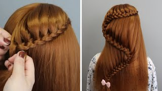 Most Beautiful Bridal Hairstyle Tutorial 2020 - Easy, Fast and Beautiful Hairstyles for Long Hair