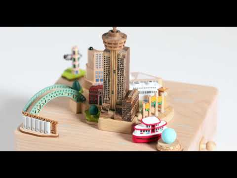 Vancouver Wooden Music Box