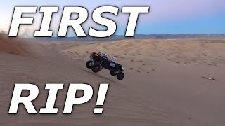 Glamis day 1 FIRST RIDE! Beast Mode RIPS! E85 POWA!