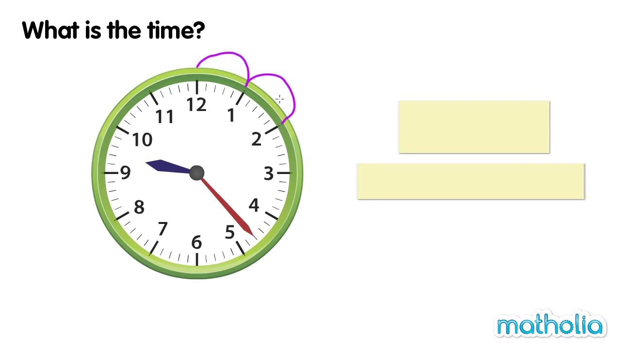 Telling Time ('Past' and 'To')