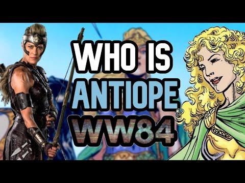Who is General Antiope? (Wonder Woman 1984)