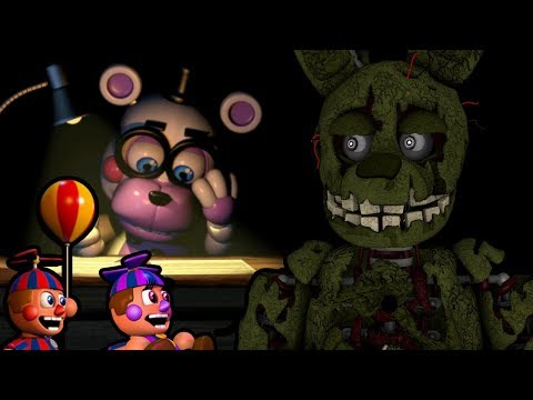SPRINGTRAP PLAYS: Five Nights at Freddy's 6 || BANKRUPT, BLACKLIST AND MEDIOCRE ENDINGS ACHIEVED!!!
