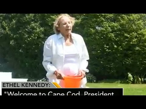 Kennedy family gets soaked for ALS ice bucket challenge