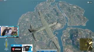 SHROUD FIRST TIME EνER PLAYING THE NEW PUBG MAP