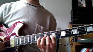 adam rogers sweep picking exercise