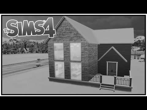 The Sims 4 - Black and White Speed Build Challenge thumbnail