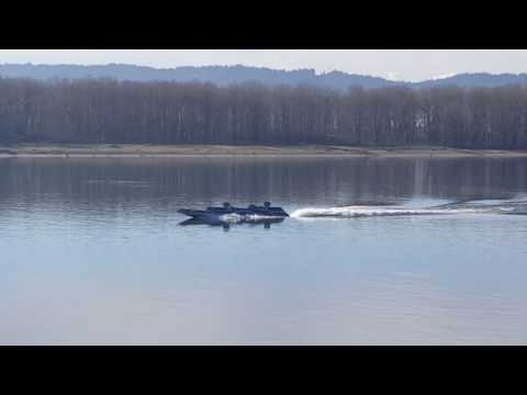 Navy Stealth Boat