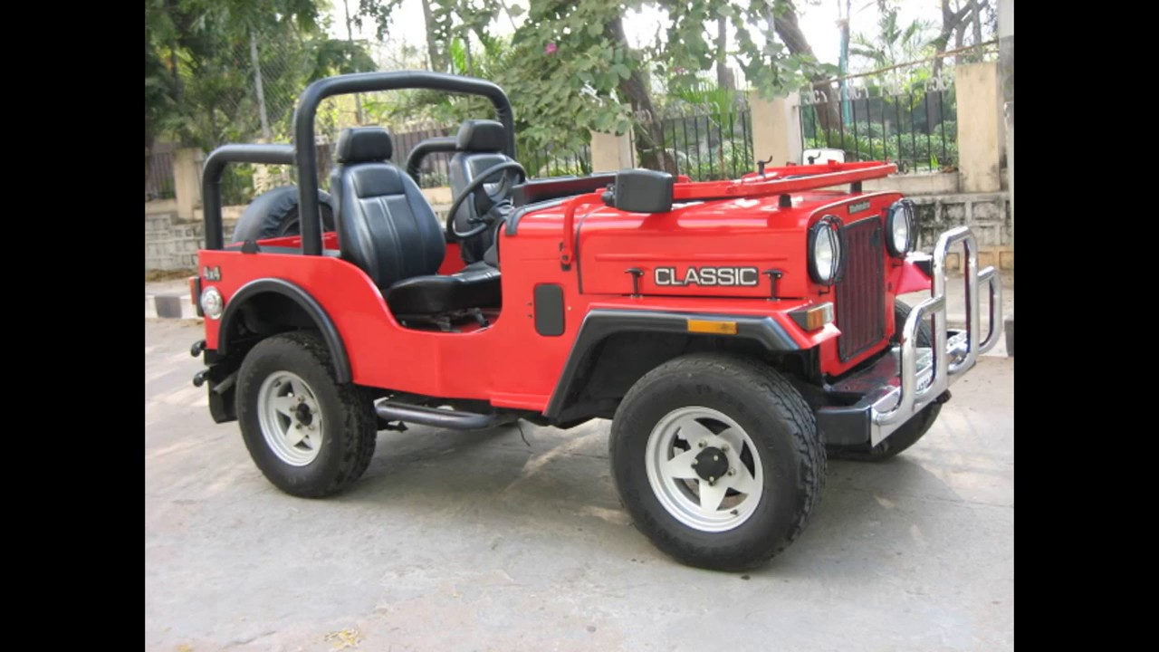 Jeep Modified Mahindra Thar Modified Hardtop Youtube