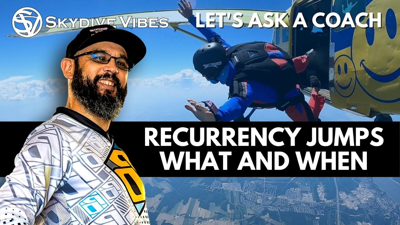 Start Skydiving After a Break   Skydive Recurrency Jump [2020 USPA Recommendations]