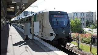 Un conducteur du RER A part à la retraite