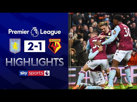 Villa scores 95th minute winner! | Aston Villa 2-1 Watford | Premier League Highlights