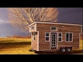 A Cute, Rustic Tiny House On Wheels
