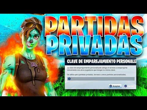 🔴Partidas privadas con SUSCRIPTORES (Partidas Personalizadas) || FORTNITE battle Royale🔴