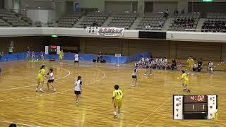 9日 ハンドボール女子 あづま総合体育館 Aコート 佼成学園×不来方 準決勝 1