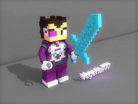 Make Off Lego Minecraft Vegetta777 Youtube