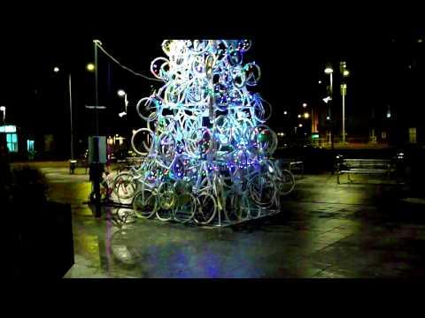 Choinka rowerowa w Tczewie