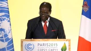 mugabe s speech at the paris climate summit