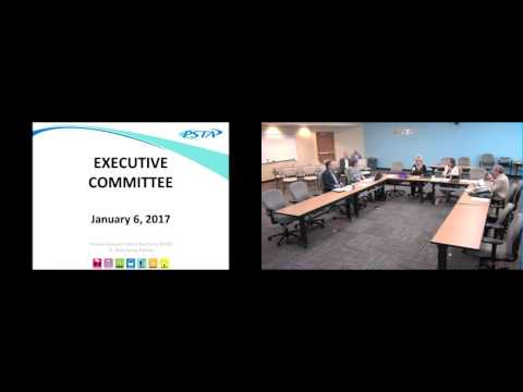 Executive Committee Meeting 01/06/2017