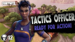 "Flawless Victory! | 12 Kill Game | Fortnite Battle Royale | ""TACTICS OFFICER"" Skin (Funny Edits)"