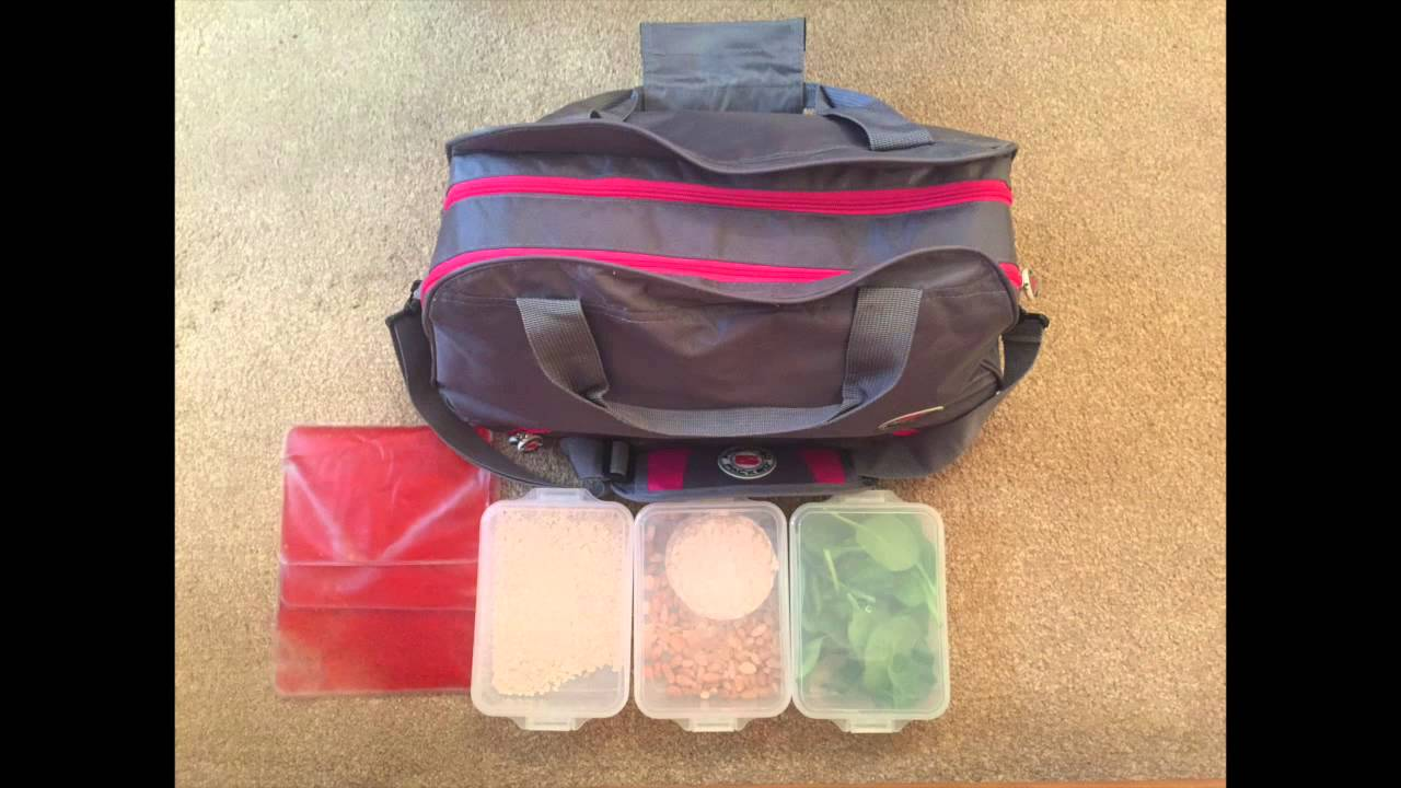 Meal Prep Bag Gym All In One