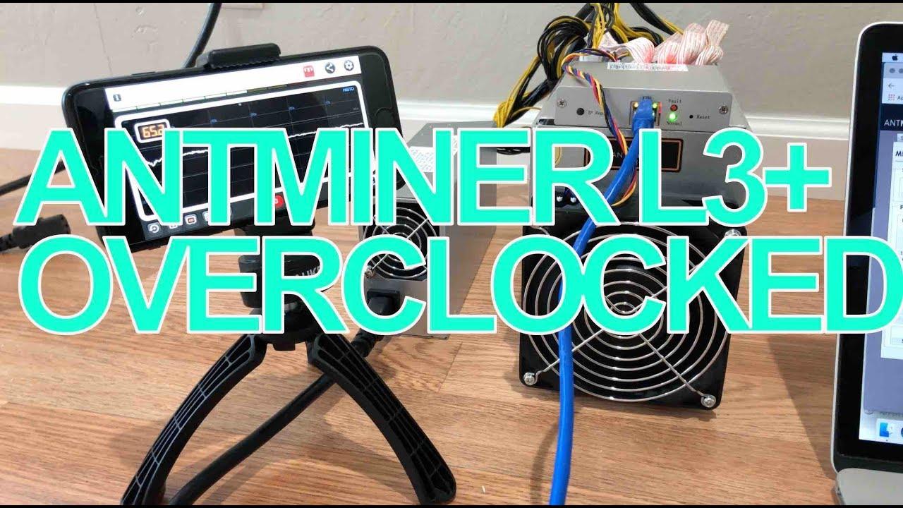 Overclocking Bitmain Antminer D3 How To Overclock Antminer S9