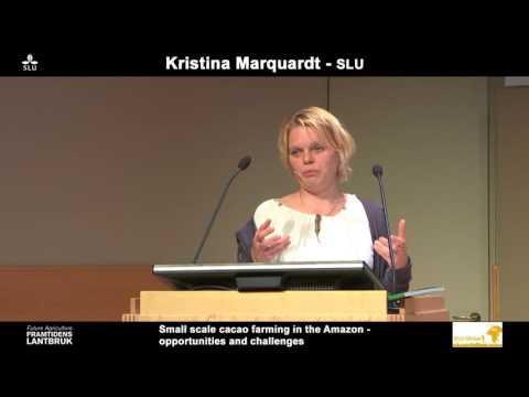 Framtidens lantbruk / Future agriculture SLU - Kristina Marquardt