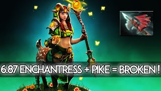 6.87 Patch Changes Dota 2 - Enchantress + Hurricane Pike = BROKEN?!