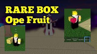 SELTENE BOX Ope Obst-ein Stück Legendary-Roblox