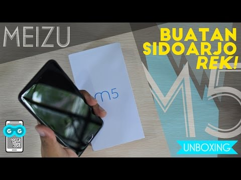 Buatan Sidoarjo! Unboxing Meizu M5 Indonesia + Hands-on & First Impression! Garansi Resmi Euy!
