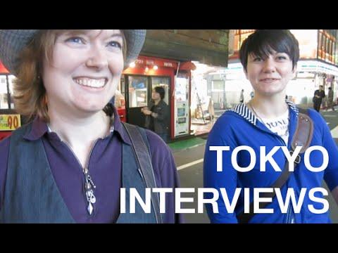 Tokyo Interview #1 : Rachel & Paula