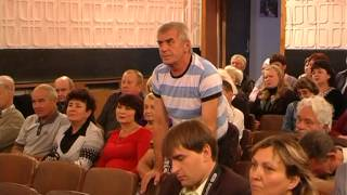 Сход граждан Комиссаровкого поселкового совета.mpg
