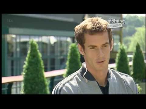 Andy Murray interview on This Morning with Holly Wlloughby - 8th July 2013
