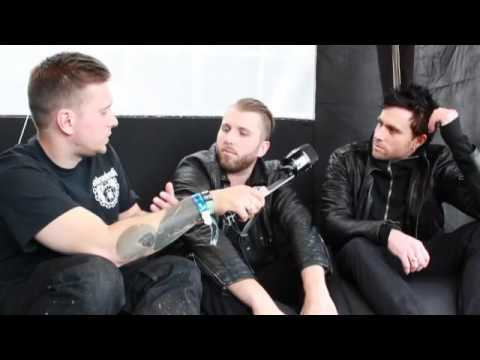 Three Days Grace interview @Download 2015 (TotalRock)