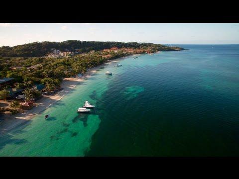 West Bay Beach Roatan Honduras - YouTube