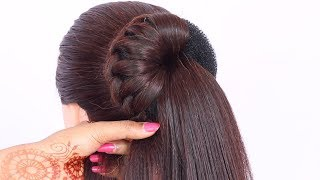 6 easy hairstyles for wedding guest || simple hairstyle || hair style girl || updo hairstyles