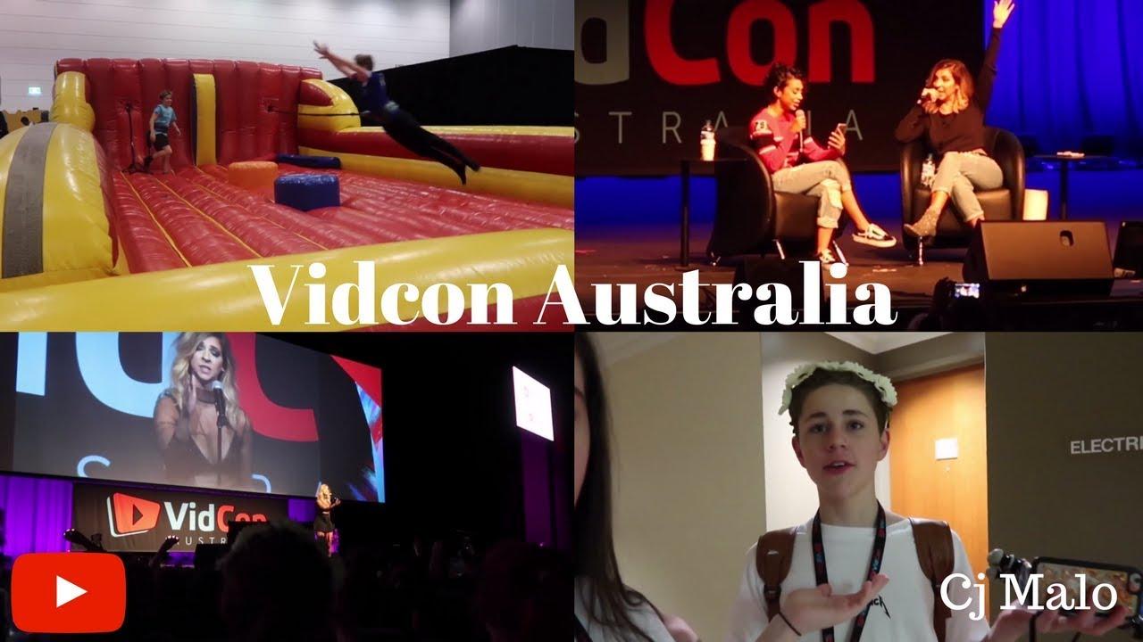 Vidcon Australia Joey Graceffa Liza Koshy Tyler Oakley The