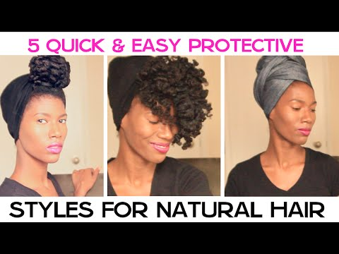 Protective Hairstyles For Natural Short Hair