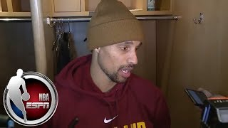 George Hill after Cavaliers' win over Raptors: 'We're feeding off' Kevin Love's return   NBA on ESPN