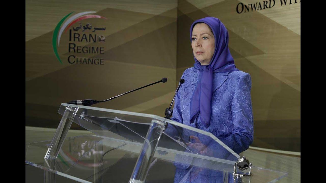 Maryam Rajavi :Iran uprising, time to march on