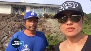 Christian Vera Visits Ventura Neighborhood After Thomas Fire