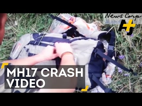 New Video Shows Russian-Backed Rebels At MH17 Plane Crash